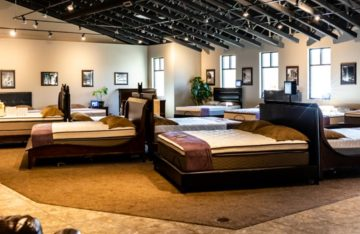 Dubuque Mattress Factory Showroom