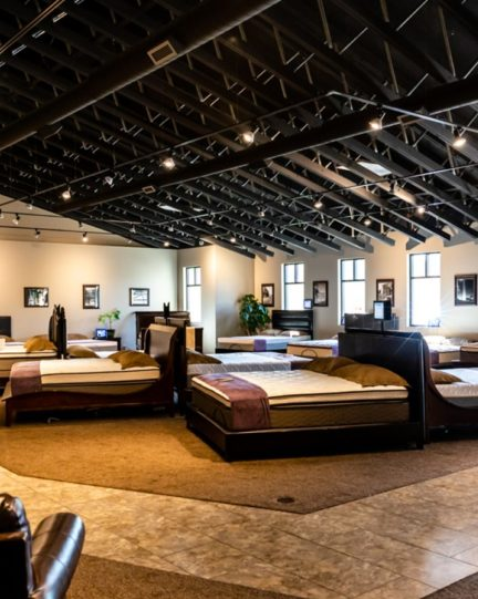 Dubuque Mattress Factory Showroom