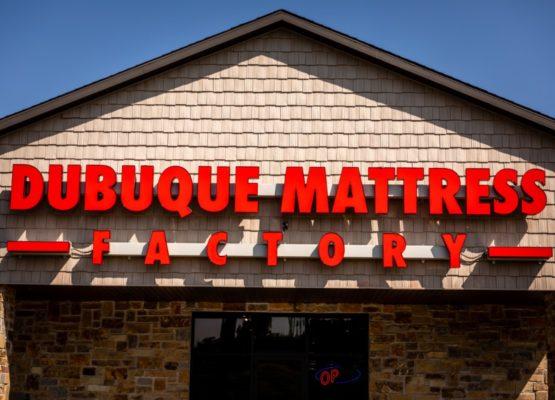 Dubuque Mattress Factory Building